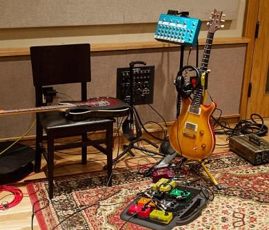 Still Life from the Recording Studio